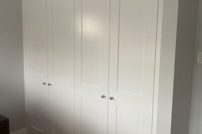 Hinged Shaker (2 Panel) Polyurethane doors - 4 door combination