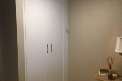 Hinged One Panel Shaker Polyurethane Painted Doors