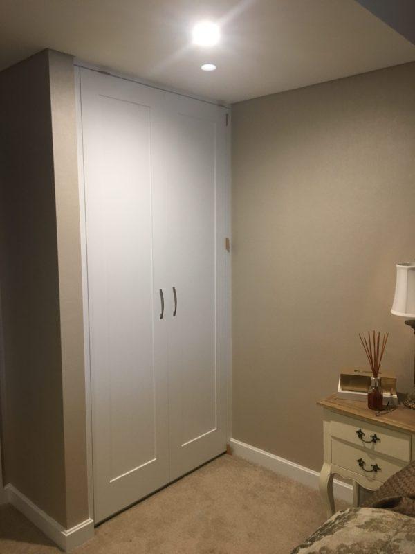 Wardrobes Polyurethane Painted Doors Built In