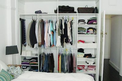 Not all wardrobes need to have drawers