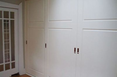 Sliding Heritage (2 Panel) Polyurethane Doors - 3 door combination