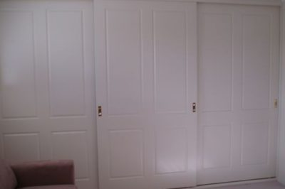 Sliding Federation (4 panel) Polyurethane Doors - 3 x wide doors