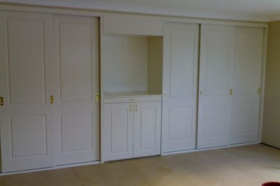 Sliding and Hinged Heritage (2 Panel) Polyurethane Doors - 7 door combination