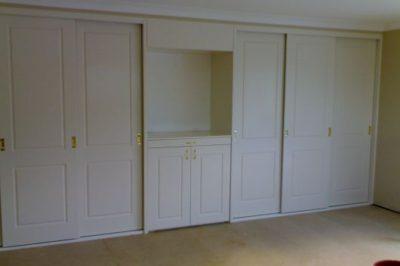 Sliding and Hinged Heritage (2 Panel) Polyurethane Doors - 7 door combination