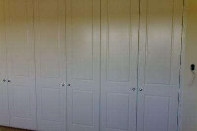 Hinged Heritage (2 Panel) Polyurethane Doors - 6 door combination