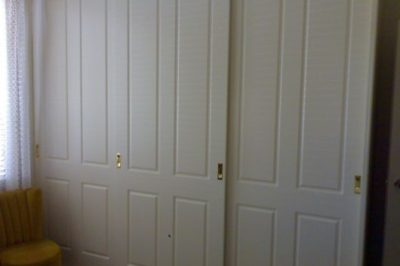 Sliding Federation (4 panel) Polyurethane Doors - 3 door combo