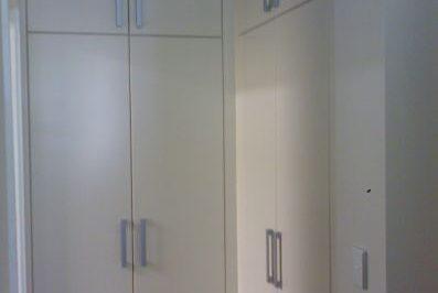 Hinged Classic (Flat) Polyurethane Doors - 8 doors on doors