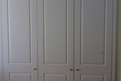 Hinged Heritage (2 Panel) Polyurethane Doors - 3 door combination