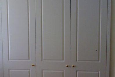 Hinged Heritage (2 Panel) Polyurethane Doors - 3 door combination