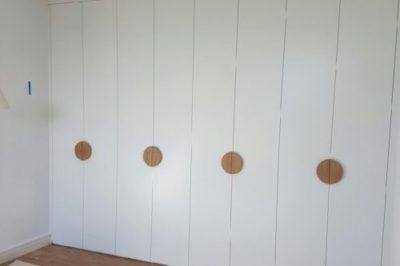 Hinged Classic (Flat) Polyurethane Doors - customer's own handles