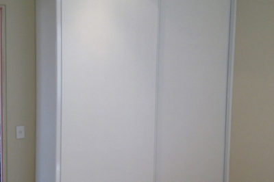 Sliding Classic (Flat) Polyurethane Doors with bulkhead