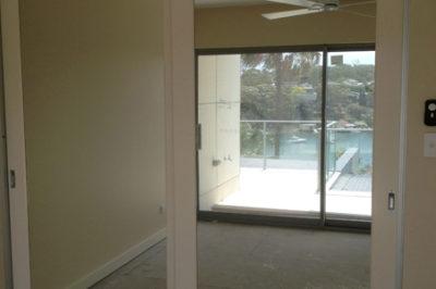 Sliding Mirror Decor Polyurethane Doors - 2 door combination