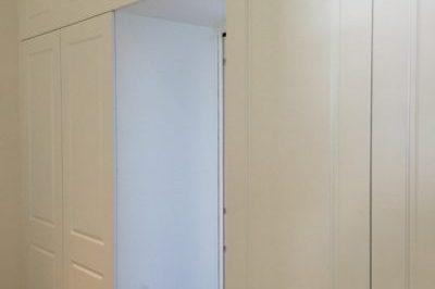 Hinged Heritage (2 Panel) Polyurethane Doors - Doors on doors around doorway