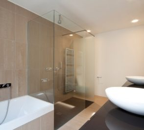 Frameless Shower Screen - Three Side